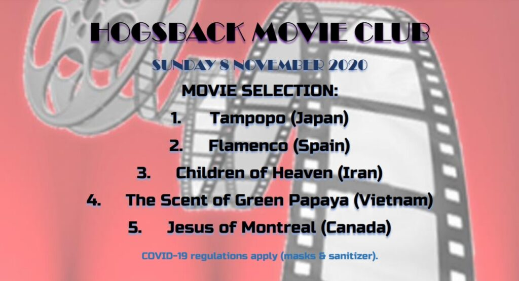 Movie night list of movies