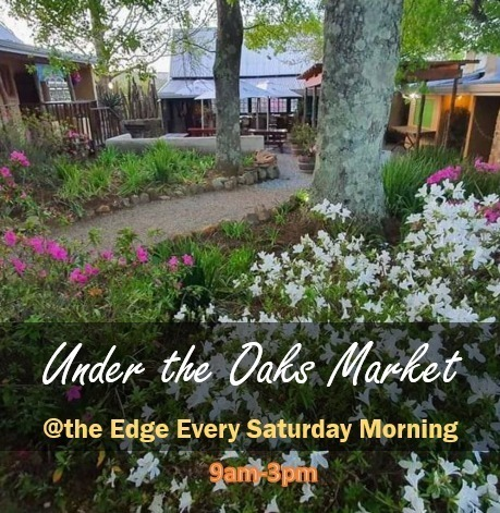 UNder the oaks morning market at the Edge, Hogsback
