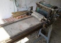 The first printing press