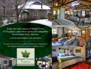 Maple rove Self catering in Hogsback
