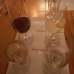 Wine tasting at the Edge, Hogsback