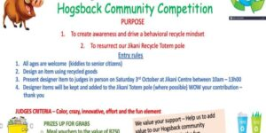 Enter our Hogsback recycling competiton