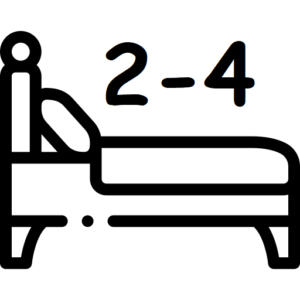 Sleep two to four people
