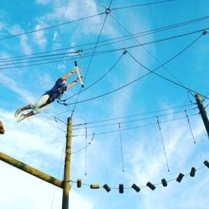High ropes adventure at Hobbiton Outdoor adventure Centre in Hogsback