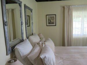 Cottage bedroom at High Gonvrea In HOgsback