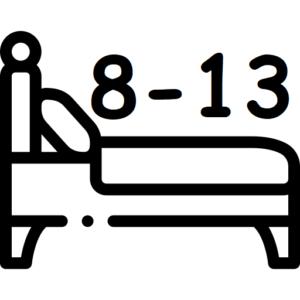 bed 8-13 sleeper