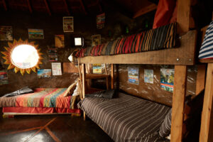 The dorm at Terra-khaya in Hogsback