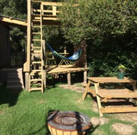 Blackwood cabin at organic origin in Hogsback