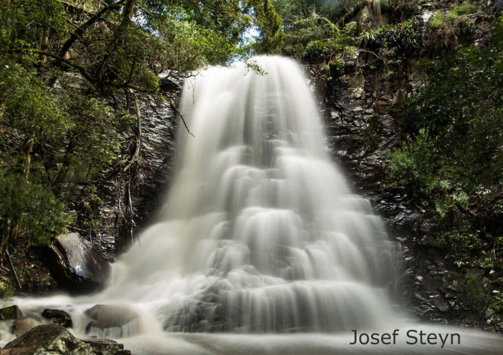 39 Steps Waterfall by Josef Steyn