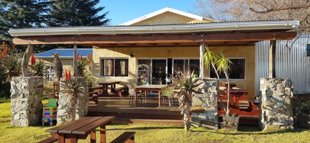 THe Edge Restaurant garden entrance in Hogsback